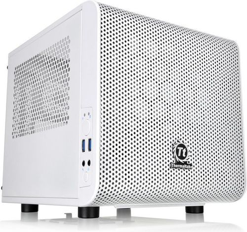 Thermaltake V1 - Mini-Gaming-PC mit AMD Ryzen 5 3400G, Vega 11